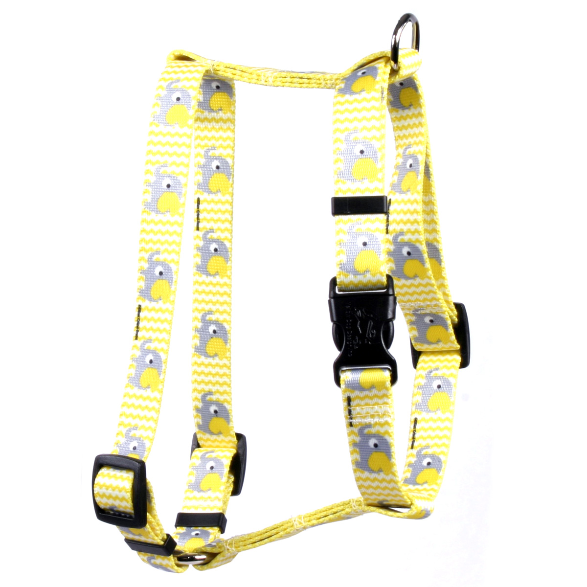 Yellow Elephants Roman H Harness