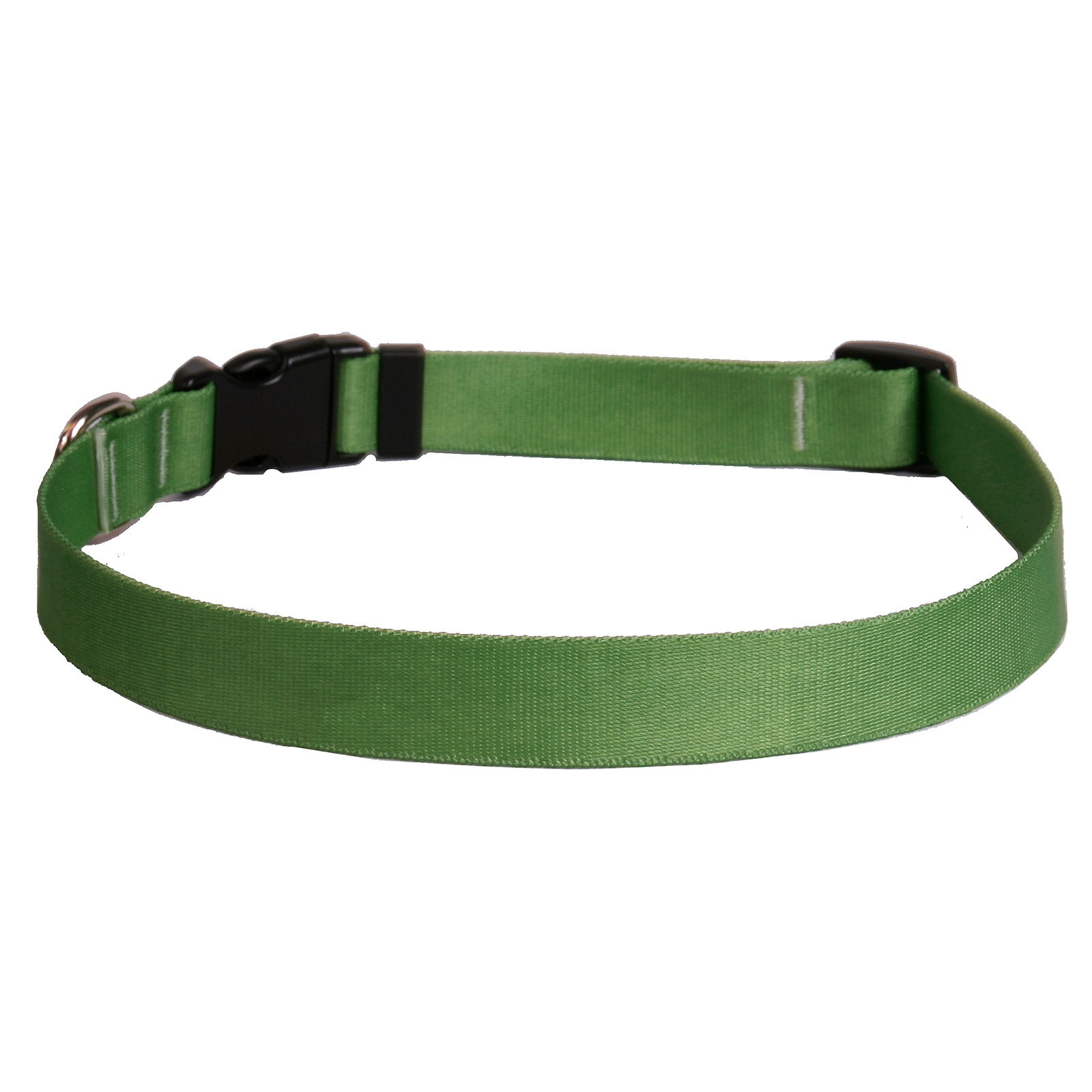 Solid Kelly Green Standard Collar