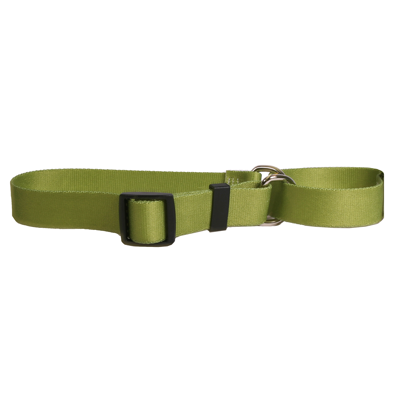 Solid Olive Martingale Collar