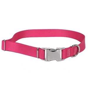 Sterling Solid Collection Magenta Dog Collar