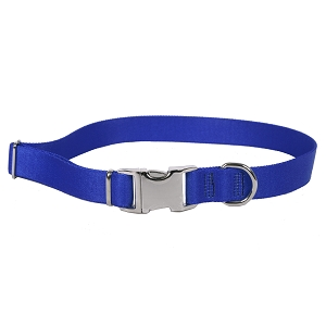 Sterling Solid Collection Royal Blue Dog Collar