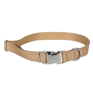 Sterling Solid Collection Tan Dog Collar