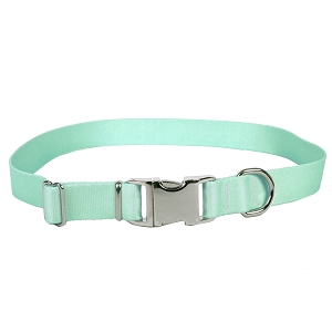 Sterling Solid Collection Winter Frost Dog Collar