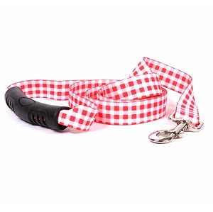 Gingham Red EZ-Lead