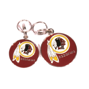Washington Redskins Engraved Pet ID Tag