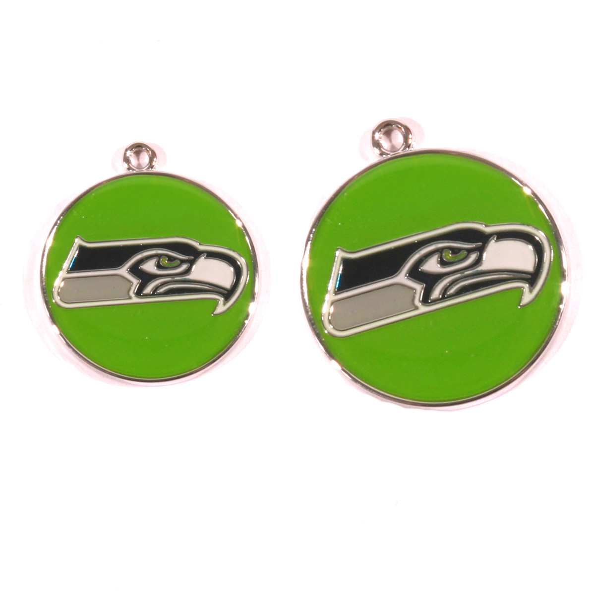Seattle Seahawks Engraved Pet ID Tag